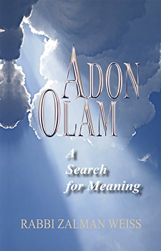 9781940516592: Adon Olam: A Search for Meaning