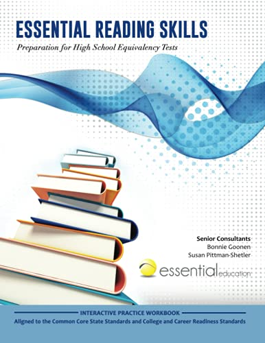 9781940532011: Essential Reading Skills, Preparation for High School Equivalency Tests