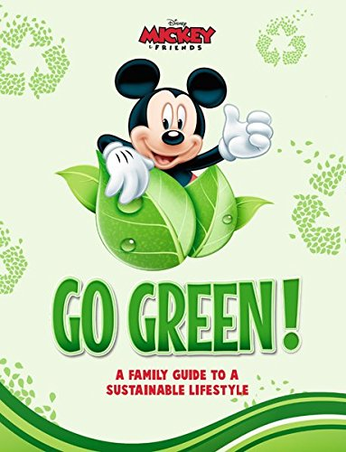 9781940787008: Disney Go Green: A Family Guide to a Sustainable Lifestyle