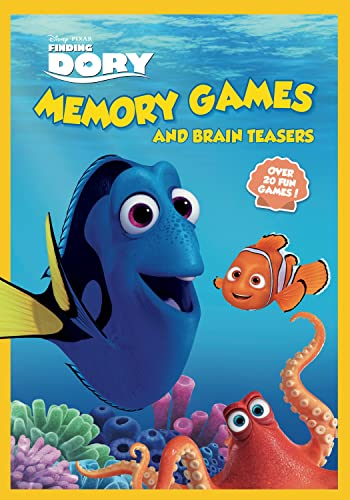 9781940787411: Finding Dory Memory Games and Brain Teasers