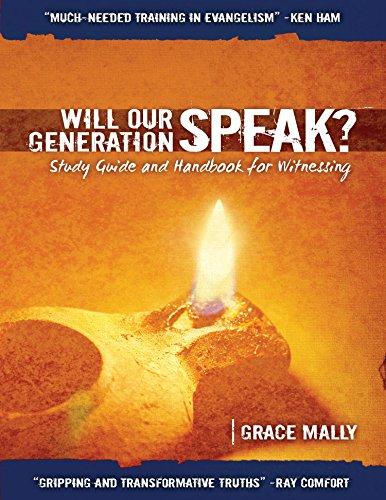 9781940793016: Will Our Generation Speak? Study Guide and Handbook for Witnessing