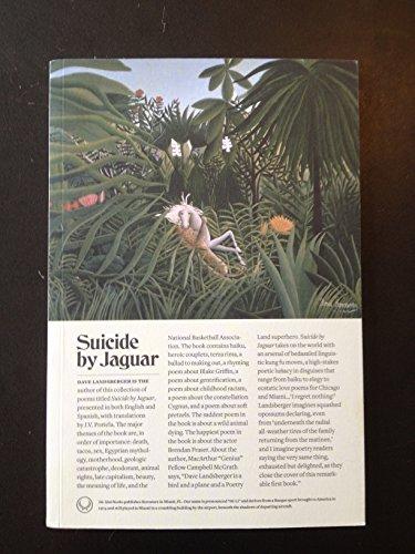 9781940806013: Suicide by Jaguar / Suicidio por Jaguar