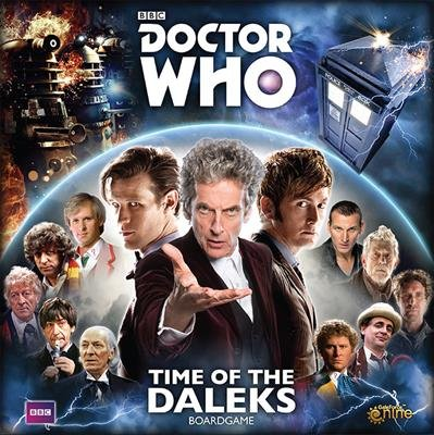 9781940825908: DOCTOR WHO TIME OF THE DALEKS BOARD GAME