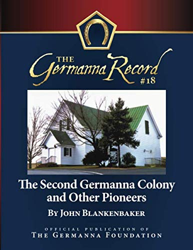 9781940945026: The Second Germanna Colony and Other Pioneers