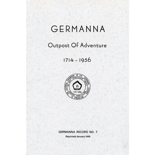 9781940945088: Germanna: Outpost of Adventure 1714-1956