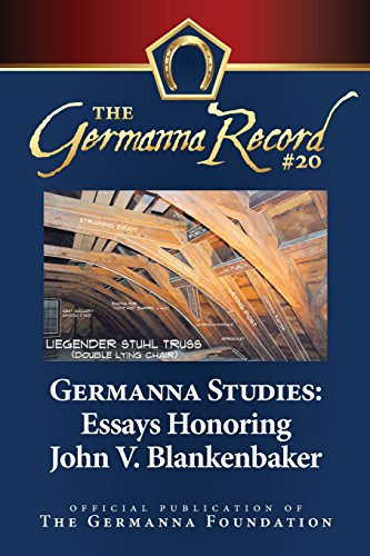 Germanna Studies: Essays Honoring John V. Blankenbaker: Brown, Dr Katharine