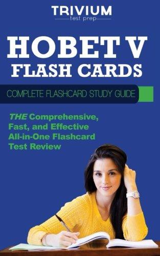 HOBET V Flash Cards: Complete Flash Card: Trivium Test Prep