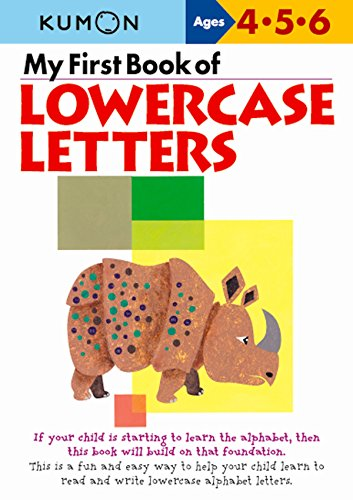 9781941082126: My First Book of Lowercase Letters