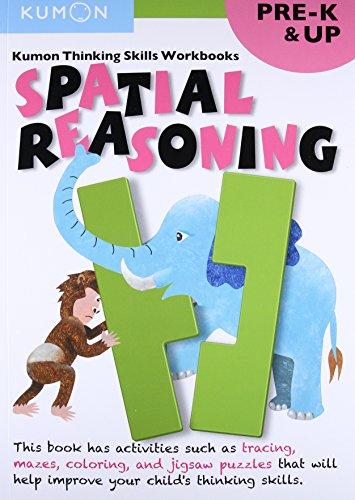 9781941082225: Spatial Reasoning, Grade Pre-k (Thinking Skills Workbooks) (Kumon Thinking Skills Workbooks)