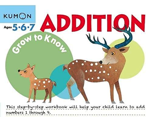 9781941082461: Grow to Know: Addition (Grow to Know Workbooks)