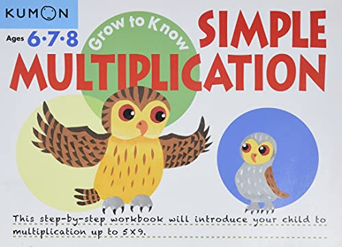 9781941082485: Simple Multiplication (Grow to Know Workbooks)