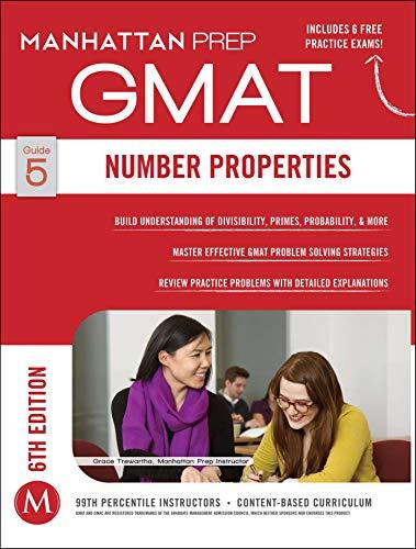 Number Properties GMAT Strategy Guide, 6th Edition (Manhattan Prep Instructional Guide): Manhattan ...