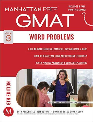 9781941234082: GMAT Word Problems (Manhattan Prep GMAT Strategy Guides)