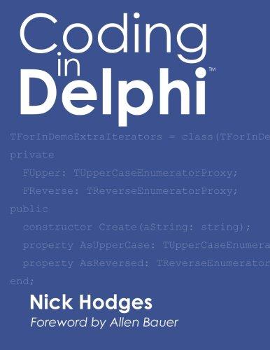 9781941266038: Coding in Delphi