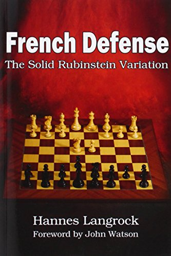 French Defense: The Solid Rubinstein Variation: Langrock, Hannes