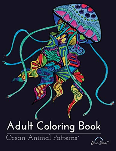9781941325254: Adult Coloring Book: Ocean Animal Patterns