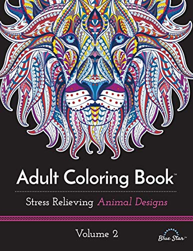 9781941325315: Adult Coloring Book: Stress Relieving Animal Designs Volume 2