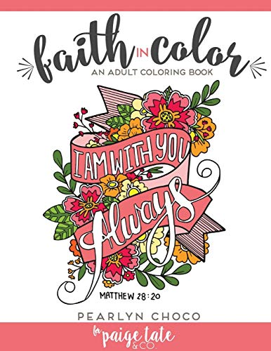 9781941325360: Faith in Color: An Adult Coloring Book