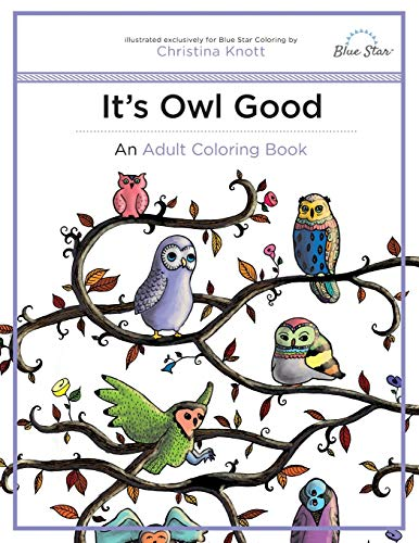 9781941325407: It's Owl Good: An Adult Coloring Book