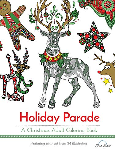 9781941325513: Holiday Parade: A Christmas Adult Coloring Book