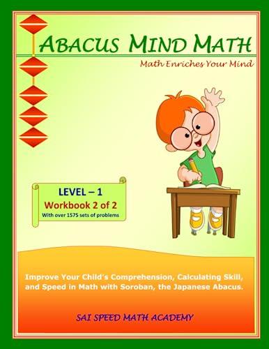 Abacus Mind Math Level 1 Workbook 2: Academy, SAI Speed