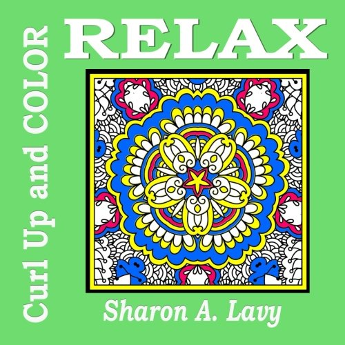 9781941622216: Relax (Curl Up and COLOR) (Volume 1)