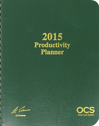 9781941627051: 2015 Ocs Productivity Planner (One Card System)