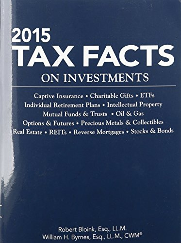 2015 Tax Facts on Investments: Robert Bloink