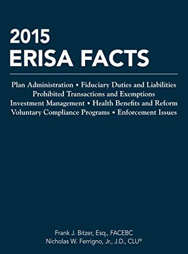 Erisa Facts 2015: Bitzer, Frank J./ Ferrigno, Nicholas W., Jr.