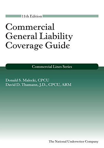9781941627433: Commercial General Liability Coverage Guide