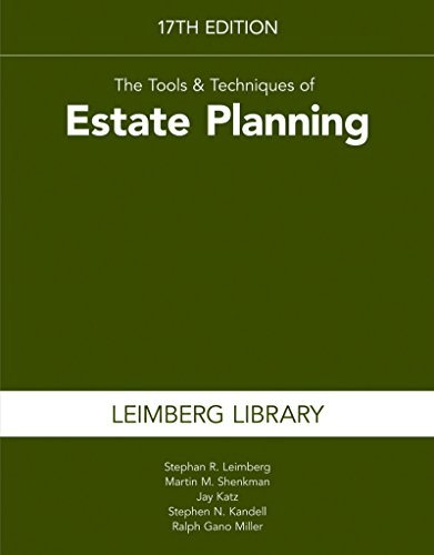 9781941627457: The Tools & Techniques of Estate Planning 17th edition