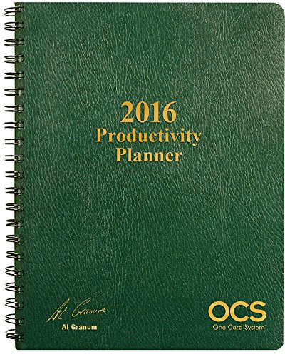 9781941627679: 2016 Productivity Planner