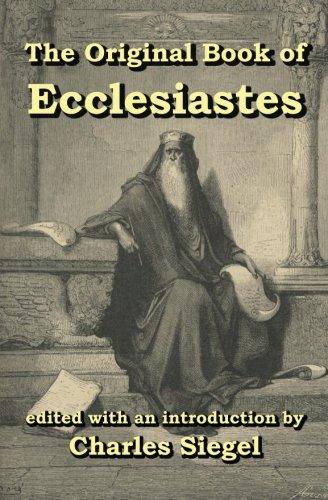 9781941667019: Original Book of Ecclesiastes
