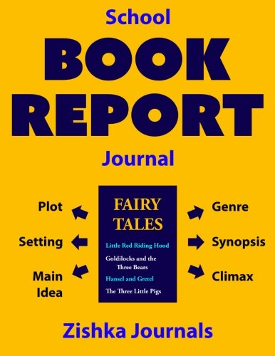 9781941691069: School Book Report Journal (for Fiction)