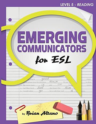 Emerging Communicators for ESL - Reading: Altano, Brian