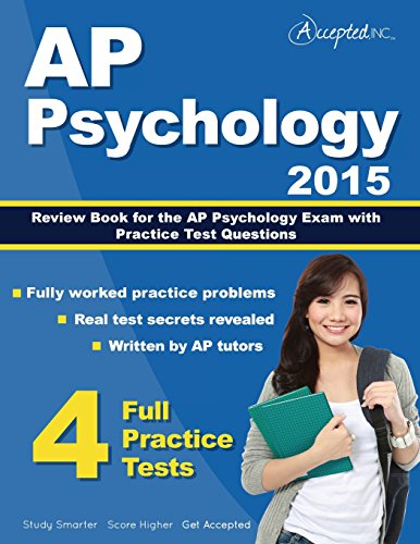 9781941743065: AP Psychology 2015: Review Book for Psychology Exam with Practice Test Questions