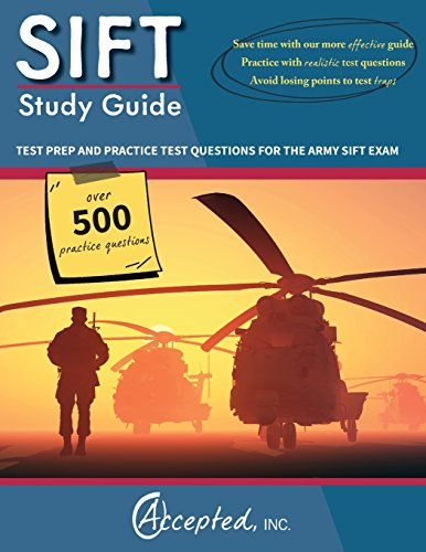 9781941743416: SIFT Study Guide: Test Prep and Practice Questions for the Army SIFT Exam