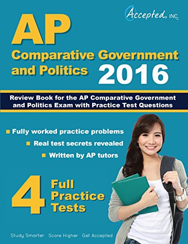 9781941743584: AP Comparative Government and Politics 2016: Review Book for AP Comparative Government and Politics Exam with Practice Test
