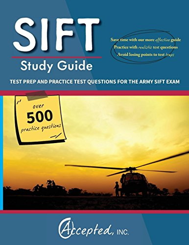 9781941743645: SIFT Study Guide: Test Prep and Practice Questions for the Army SIFT Exam