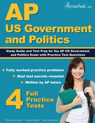 9781941743966: AP US Government and Politics Study Guide: Test Prep and Practice Test Questions
