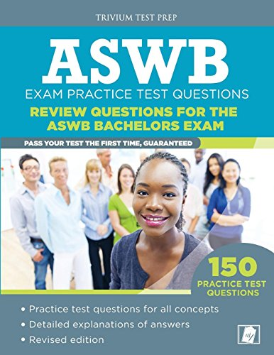 9781941759592: ASWB Exam Practice Test Questions: Review Questions for the ASWB Bachelors Exam