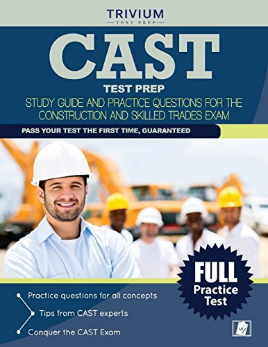 9781941759639: CAST Test Prep: Study Guide and Practice Questions for the Construction and Skilled Trades Exam
