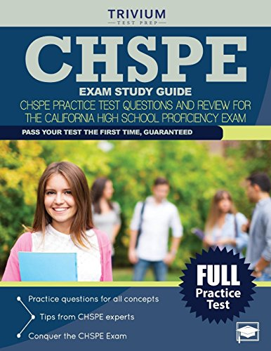 9781941759660: CHSPE Exam Study Guide: CHSPE Practice Test Questions and Review for the California High School Proficiency Exam