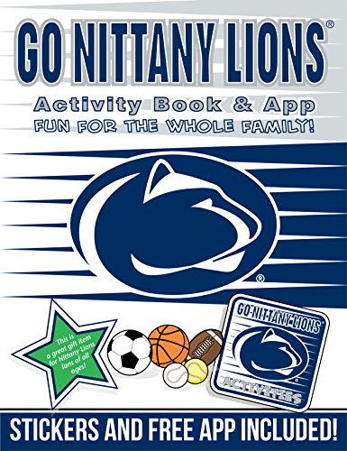 Go Nittany Lions Activity Book & App: Hall, Darla