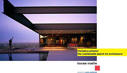 9781941806913: Michael P. Johnson: The Unshakeable Search for Architecture