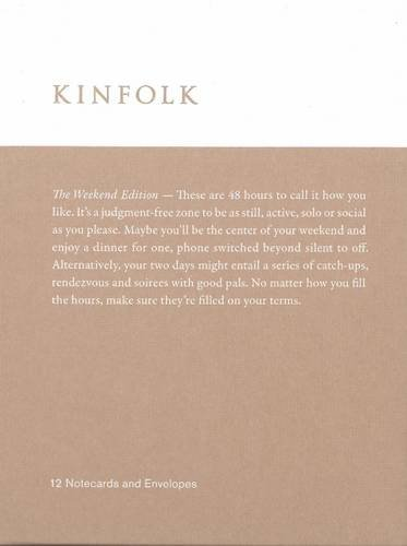 9781941815168: Kinfolk Notecards - The Weekend Edition