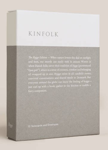 Kinfolk Notecards - The Hygge Edition: 2