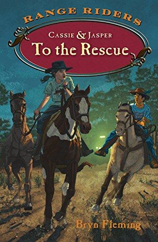 9781941821046: Cassie and Jasper to the Rescue (Range Riders)