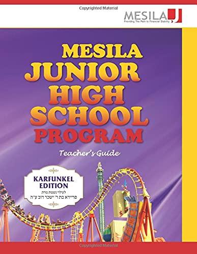 9781941902035: Mesila Junior High School Program: Teachers Curriculum Guide (Mesila Workbooks) (Volume 1)
