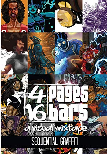 9781941958179: 4 Pages 16 Bars: Sequential Graffiti